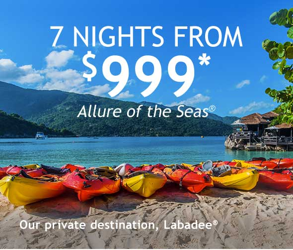 Our private destination, Labadee