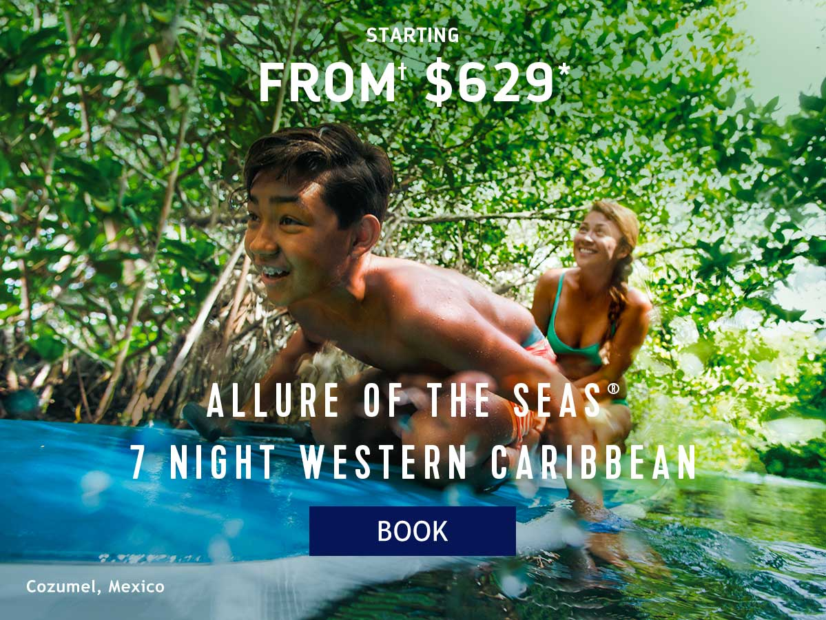 ALLURE OF THE SEAS 7 NIGHT WESTERN CARIBBEAN