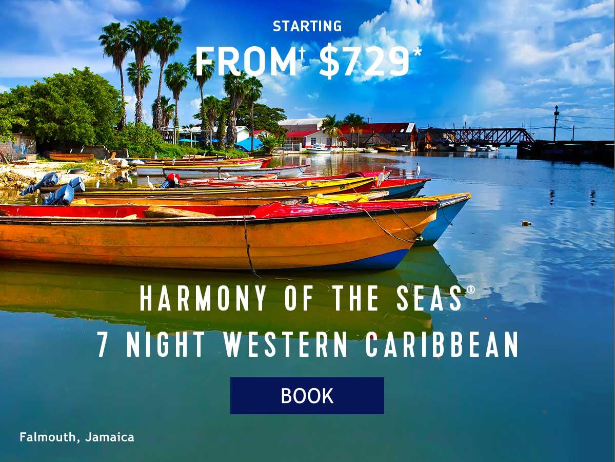 HARMONY OF THE SEAS 7 NIGHT WESTERN CARIBBEAN