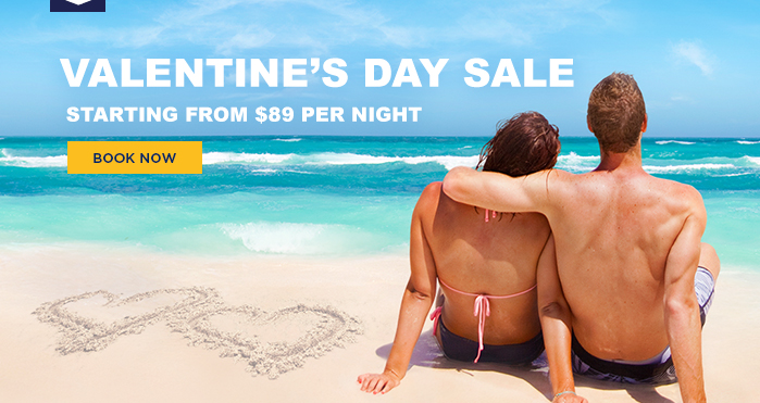 Valentine's Day Sale Starting from $89 per night